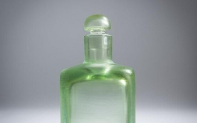 Paolo Venini, 'Inciso' bottle with stopper, c. 1956