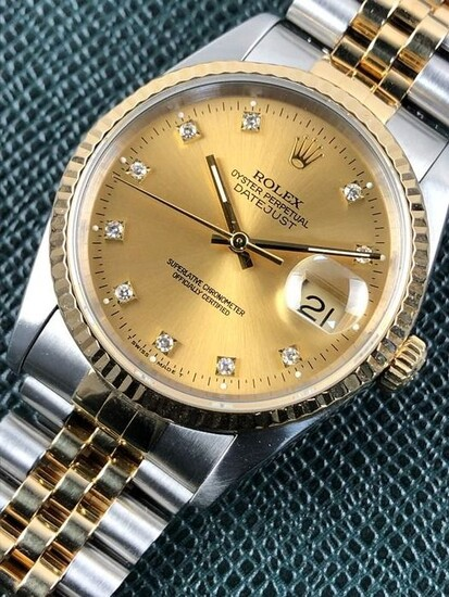 Rolex - Oyster Perpetual Date Just - 16233 - Unisex - 1990-1999