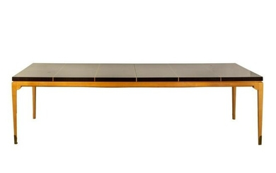 """Tommi Parzinger Inlaid 108"""" Extension Dining Table"""