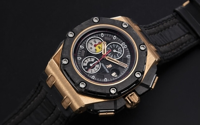 AUDEMARS PIGUET, LIMITED EDITION PINK GOLD, CERAMIC AND CARBON ROYAL OAK OFFSHORE GRAND PRIX, NO. 252/650
