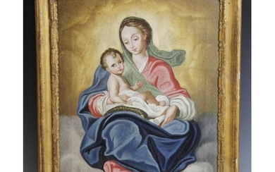 Continental school (early 19th century), A Madonna and Chil...