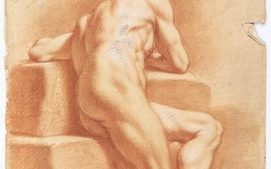 EMILIAN SCHOOL, 18th CENTURY Study of an academic nude from...