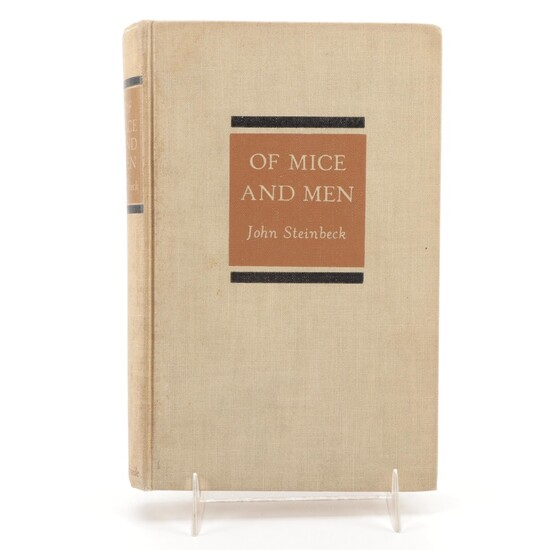 """First Edition, Second State """"Of Mice and Men"""" by John Steinbeck, 1937"""