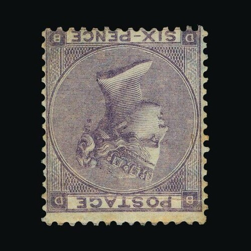 Great Britain - QV (surface printed) : (SG 85wi) 1862-64 6d ...