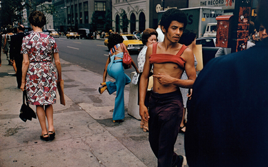 Joel Meyerowitz, New York City, 42nd St. and Fifth Ave.
