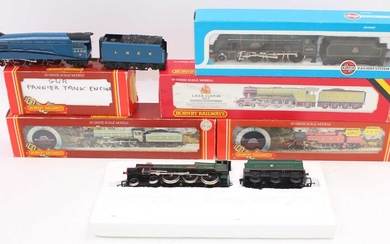 Lot details Tray of seven locos: Mainline 4-6-0 Royal...