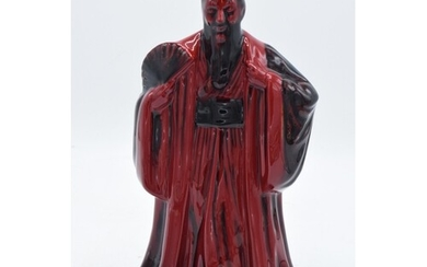 Royal Doulton Flambe figure Confucius DN3314. 23cm tall. In ...