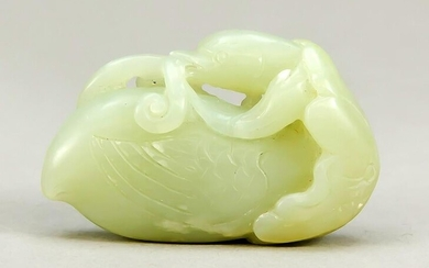 Small jade carving, China, 19th/20t