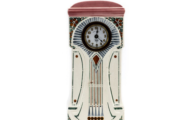 TABLE CLOCK, Lenzkirch, Germany, Art Nouveau, early 20th century.
