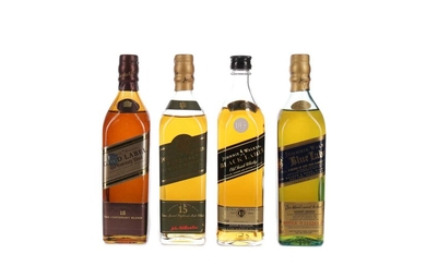 THE JOHNNIE WALKER COLLECTION (4X20CL)