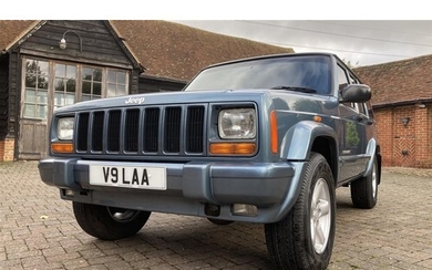 1999 JEEP CHEROKEE XJ 4.0 LIMITED EDITION ORVIS REGISTRATION...