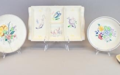 8 Pieces Poole Pottery