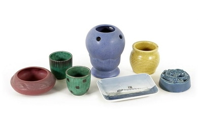 A Collection of Pottery.