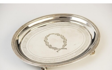 A George III silver teapot stand by John Emes, London 1804, ...
