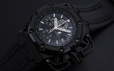AUDEMARS PIGUET, LIMITED EDITION TITANIUM AND CERAMIC ROYAL OAK OFFSHORE SURVIVOR, NO. 0215/1000