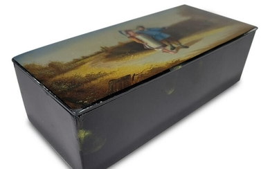 Antique Russian Imperial Lacquer box