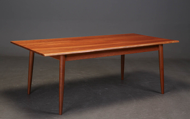 Cabinetmaker Bruno Hansen. Dining table/plank table in solid cherry