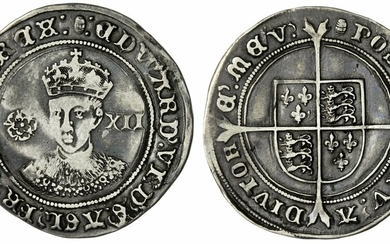 Edward VI (1547-1553), Third Coinage, Fine Silver, Shilling, 1551-1553, Tower