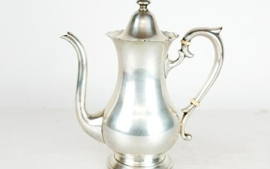 English Style Sterling Silver Teapot