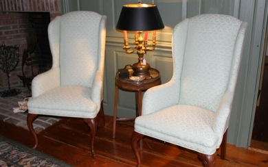 Jack Valentine Private Label Queen Anne Style Armchairs