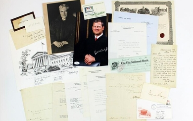 Large Supreme Court Archive (22 Total), Spanning Nearly