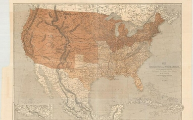 MAP, US & Mexico, Ettling