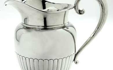 Manchester sterling silver water pitcher.