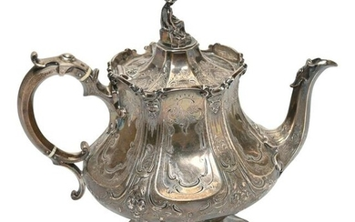 19th Century English Barhard & Sons Sterling Silver