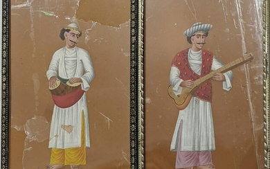 19th Century Indian School, a pair of musicians