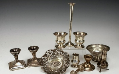 COLLECTION OF VINTAGE STERLING ITEMS