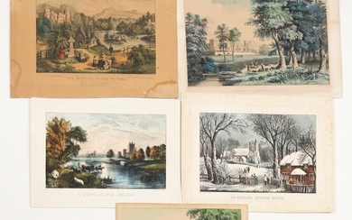 Group of Five Great Britain Related Prints C1VB