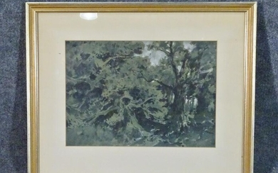 LANDSCAPE WITH TREES ARTWORK