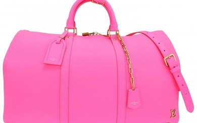 Louis Vuitton Limited Edition Pink Leather Bende