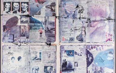 † Peter Beard (1938-2020) British, 'Diary' pages, collage/pr...