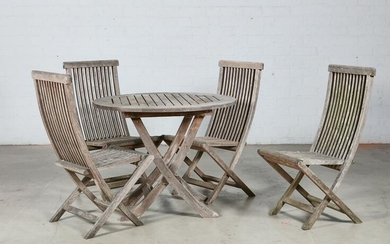 Smith & Hawken suite of outdoor dining furniture