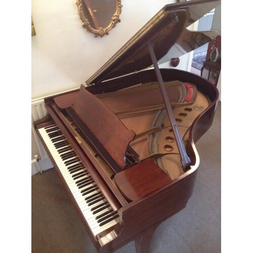 Steinway (c1936) A 5ft 7in Model M grand piano in a mahogany...