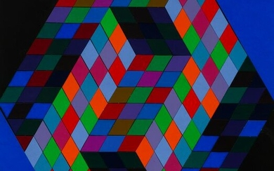 Victor Vasarely (French/Hungarian, 1906-1997) Untitled