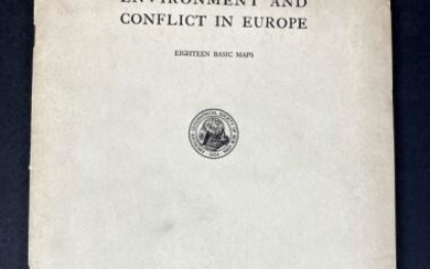1939 Maps of Conflict in Europe, Northern Southern