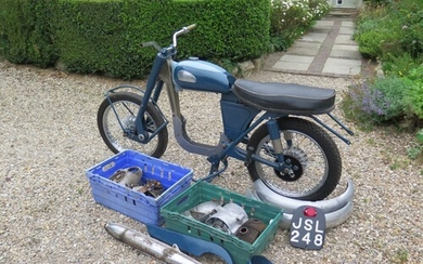 1963 Greeves Sports Twin Being sold without reserve Registr...