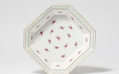 A Berlin KPM porcelain vegetable dish from an imperial dinner service