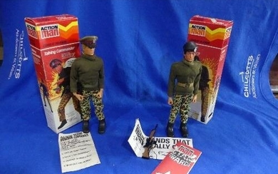 Action Man; A boxed 1983 'Talking Commander' figure, with bl...