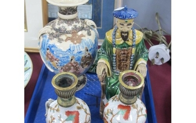 An Interesting Collection of Oriental Ceramics, to include a...