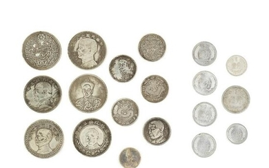 Collection of Chinese Republic and PRC Currency Coins