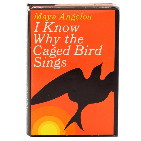 """First Printing """"I Know Why the Caged Bird Sings"""" by Maya Angelou, 1969"""