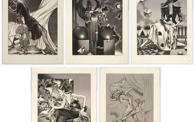 George Stavrinos, Five Lithographs