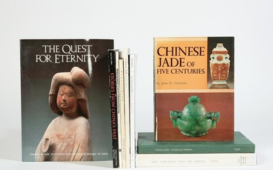 Nine reference books on Chinese works of art