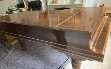 Steinway (c1905) A late 19th century 7ft 5in 88-note Model C...