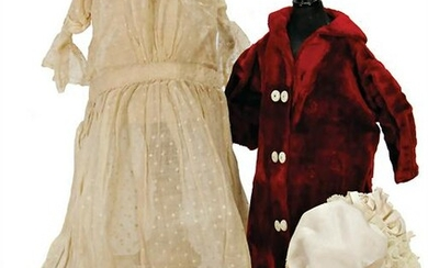 mixed lot of very nice white outer garment