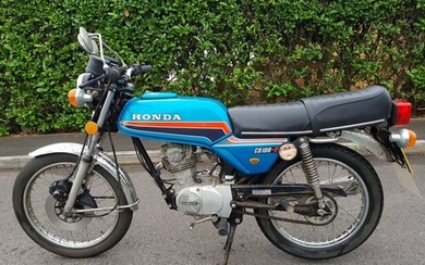 1981 Honda CB100 N Being sold without reserve Registration ...