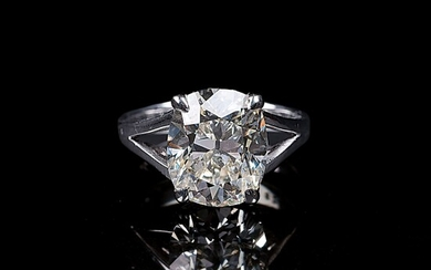 A Highcarat Solitaire Diamond Ring.